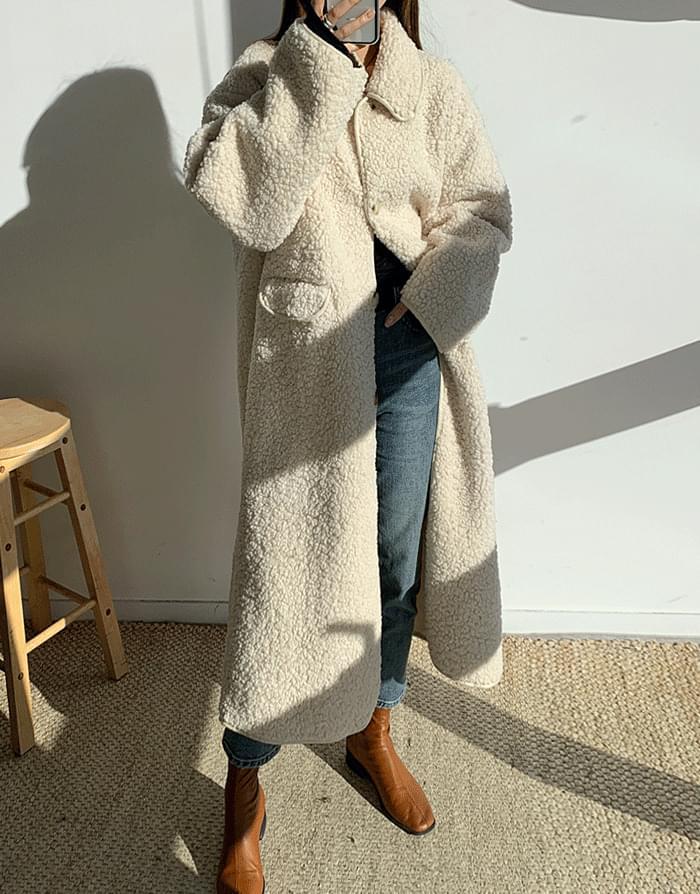 韓國空運 - Pogle Long Coat 大衣