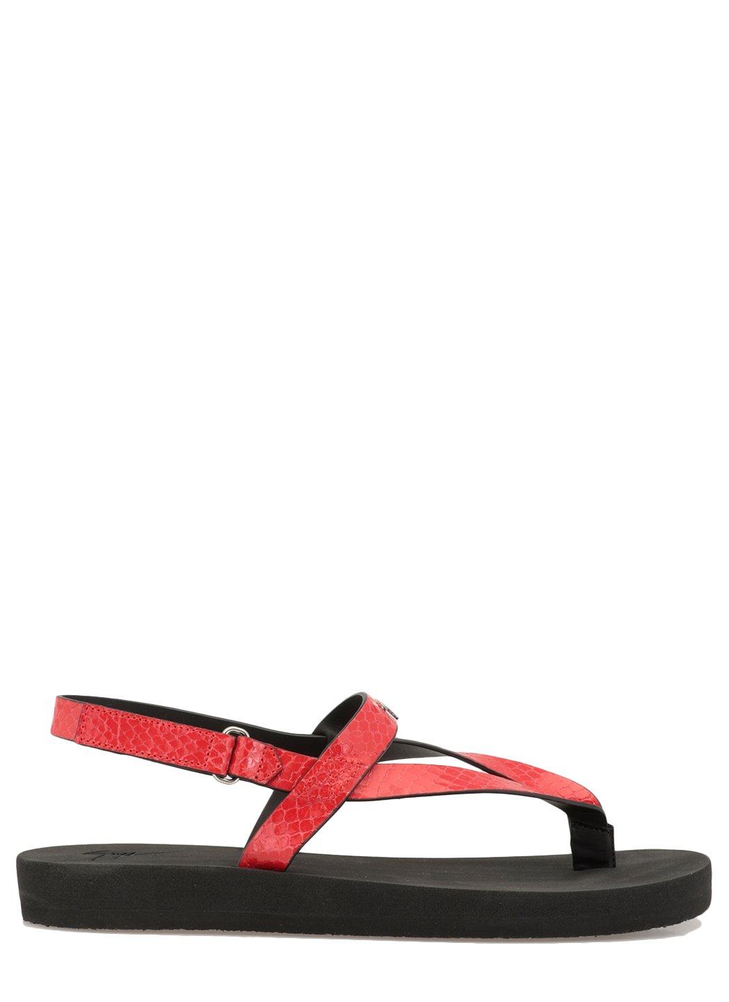 Giuseppe Zanotti Sandals Red