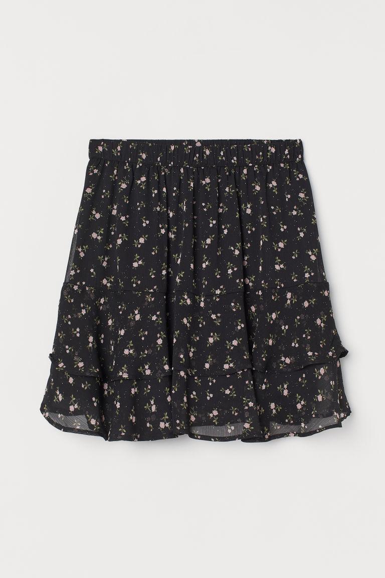 H & M - 透氣蛋糕裙 - 黑色