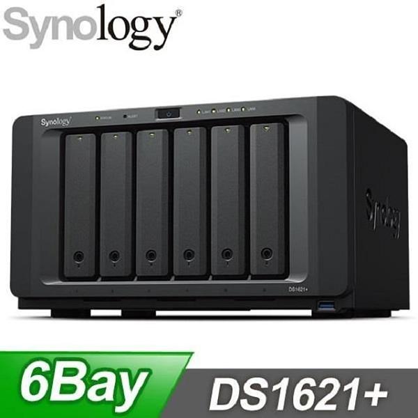 【南紡購物中心】Synology 群暉 DS1621+ 6-Bay NAS 網路儲存伺服器