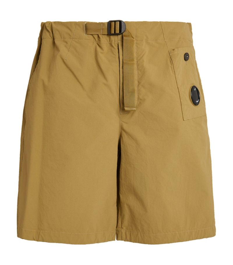 C.P. Company Belted Shorts