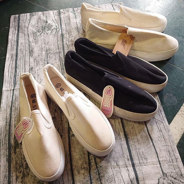 厚底鞋 女鞋 鬆糕鞋 增高鞋 跟鞋 瑕疵出清 女鞋 帆布鞋 休閒鞋 懶人鞋 白布鞋【A000】
