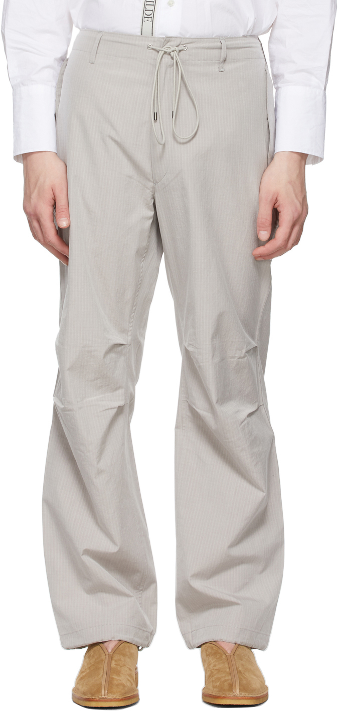 AURALEE 灰色 Field 运动裤