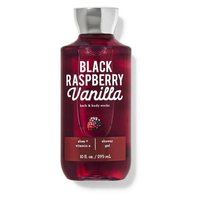 《Bath & Body Works BBW 》香水沐浴精【覆盆子香草】Black Raspberry Vanilla 295ml