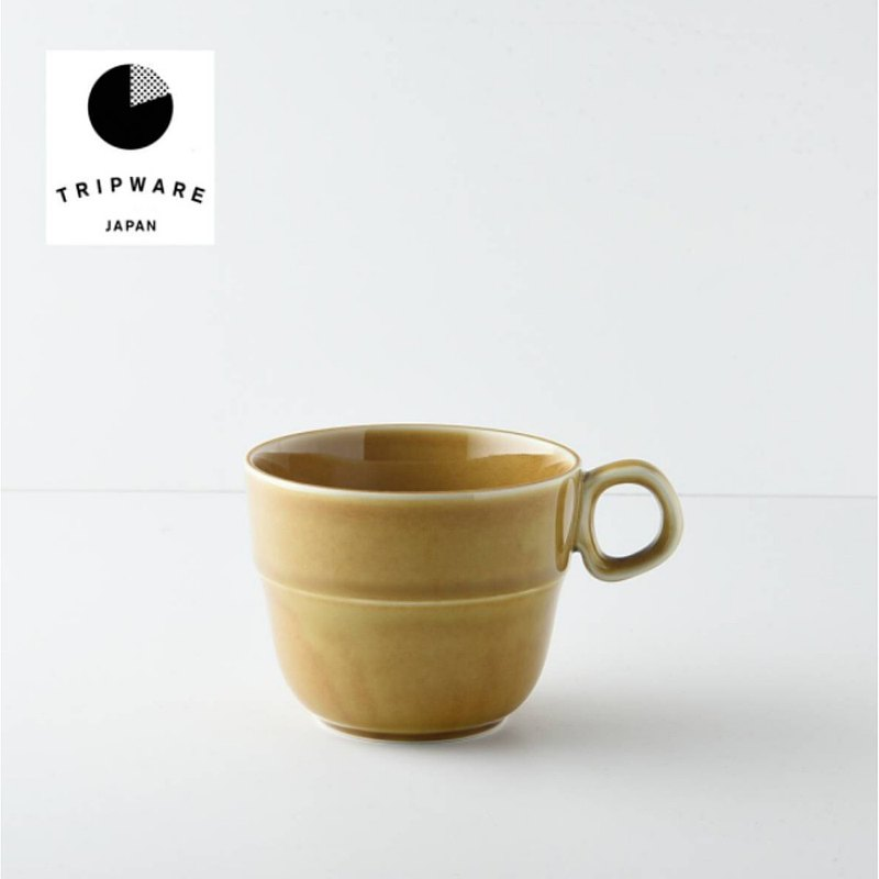 【Trip Ware Japan】馬克杯 日本製 美濃燒 (焦糖棕)