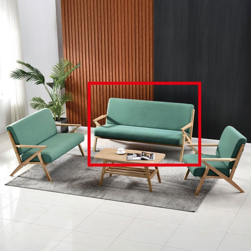 169cm三人座布沙發-a207-4 單人座 l型沙發 貓抓皮 布沙發 沙發床 沙發椅 金滿屋