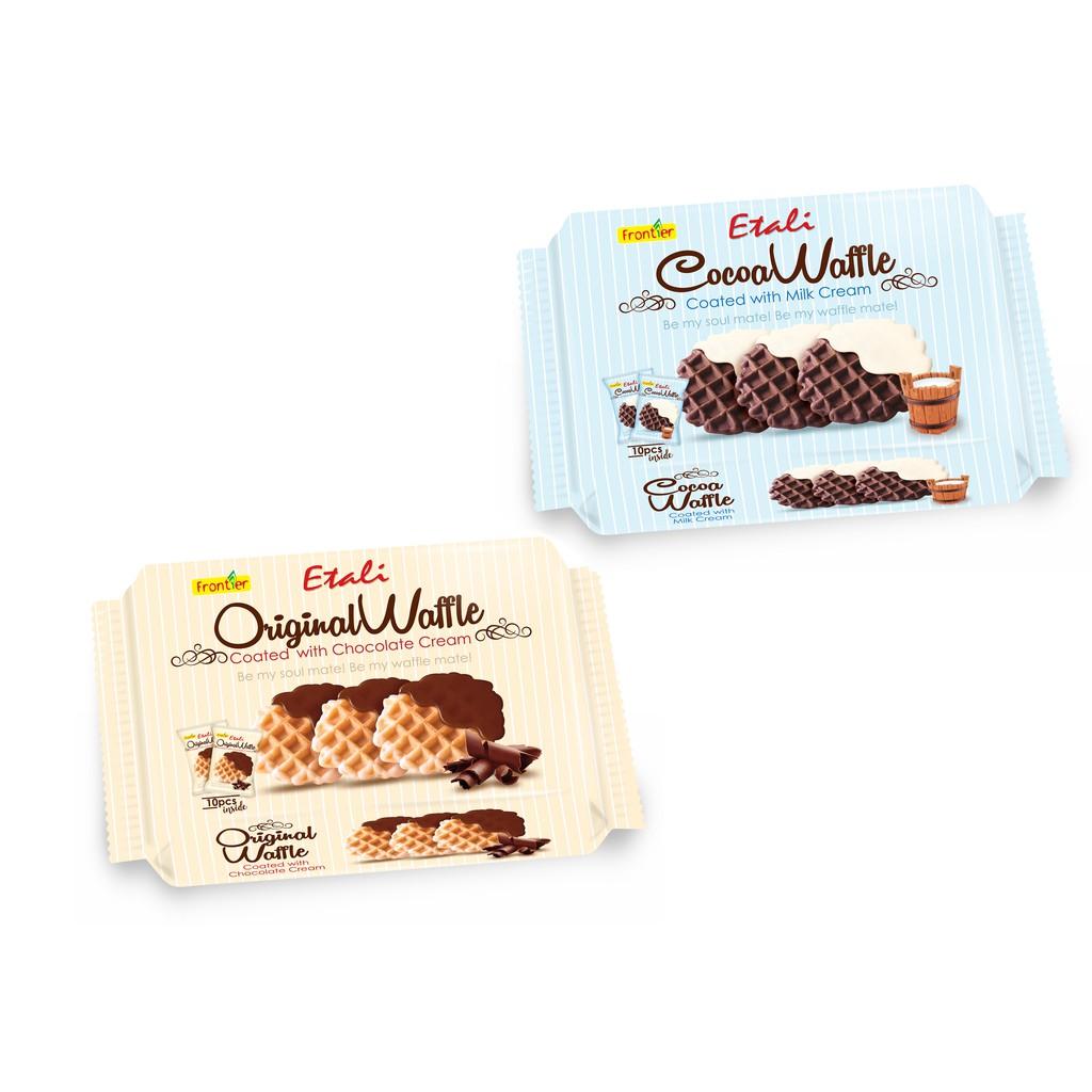 馬來西亞 汎達 可可/原味 鬆餅90g 牛奶風味醬/巧克力風味醬 【美日多多褔利社】