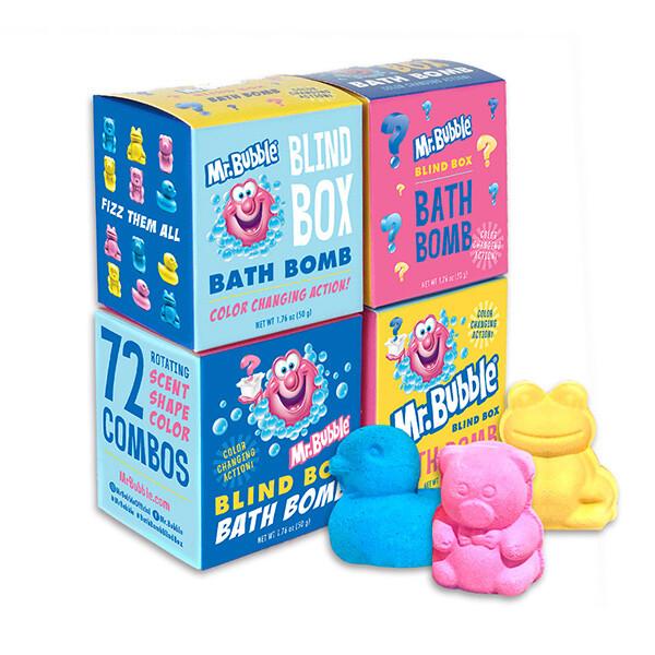 泡泡先生mr.bubble可愛動物沐浴球驚喜盒50g