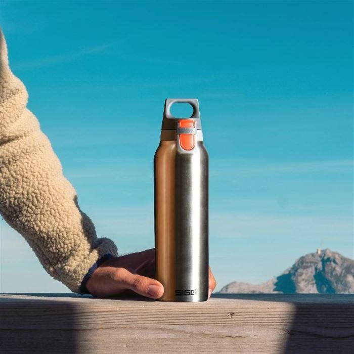 瑞士百年SIGG H&C 彈蓋 不銹鋼保溫瓶 500ml - 質感霧