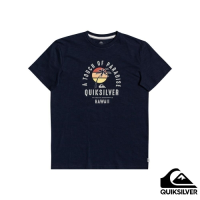 【QUIKSILVER】QUIET HOUR SS T恤 海軍藍
