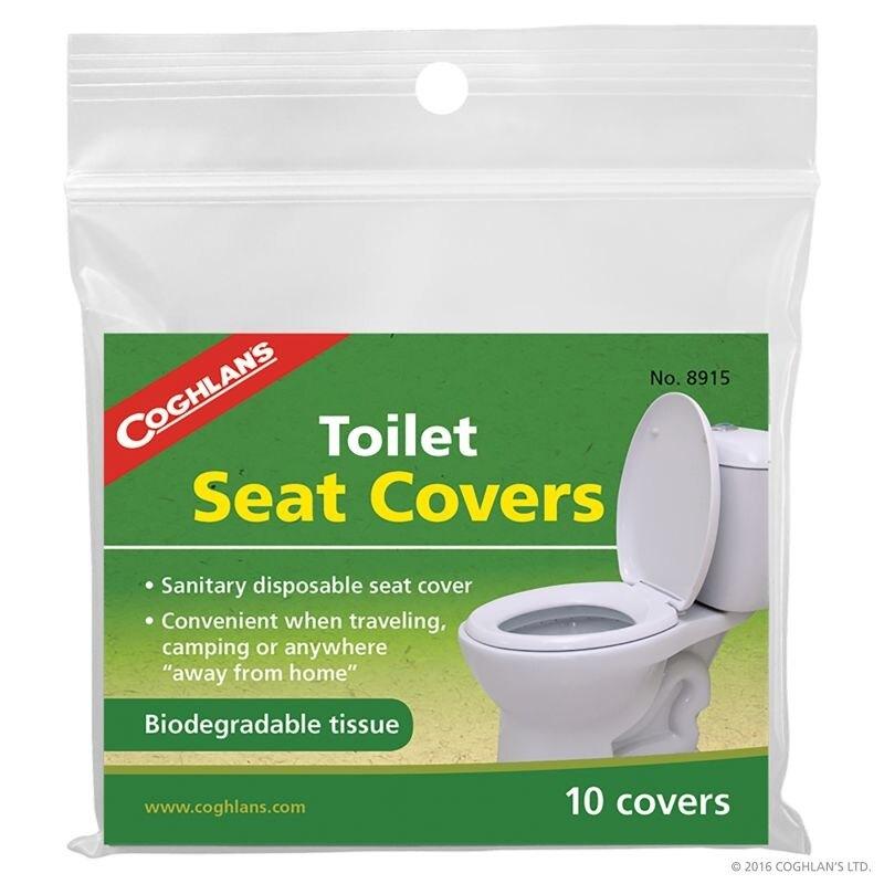 《愛露愛玩》 【Coghlans】#8915 Toilet Seat Covers 拋棄式衛生馬桶坐墊 馬桶坐墊 一次性馬桶墊
