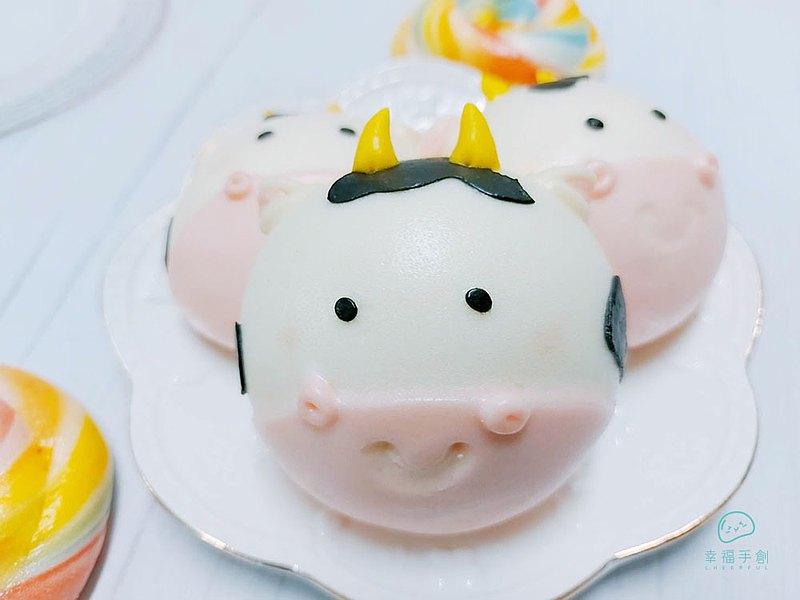 CHEERFUL 12生肖 牛 鮮奶饅頭 造型饅頭 收涎饅頭