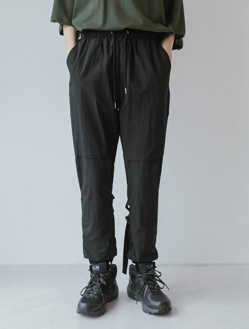 韓國空運 - Double strap velcro trousers 長褲
