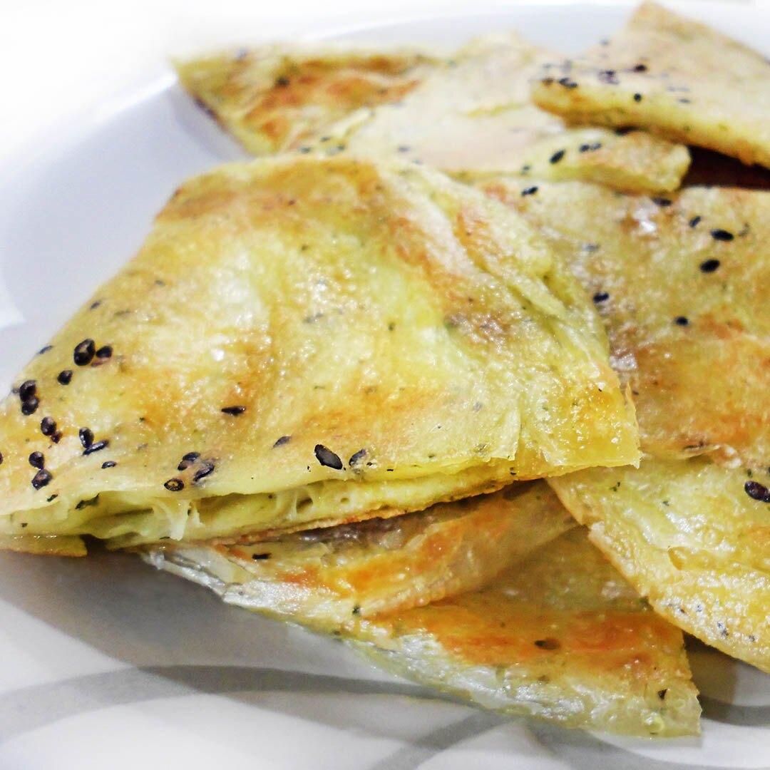 長虹 新加坡拉餅8片入 奶素 800g 【素食王國】