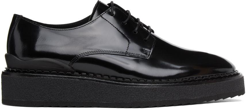 John Elliott 黑色 Creeper 德比鞋