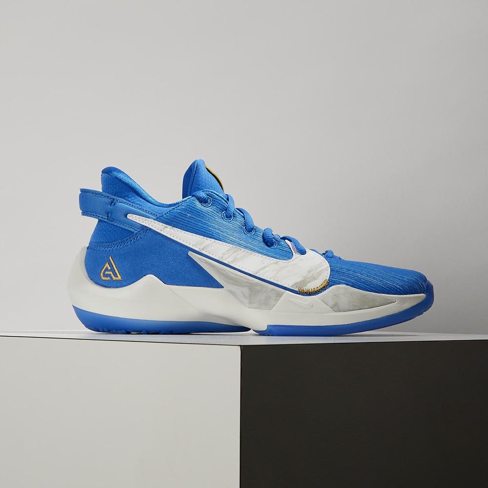 Nike Freak 2 SE (GS) 大童 藍白 明星款 字母哥 避震 包覆 運動 籃球鞋 CZ4177-408
