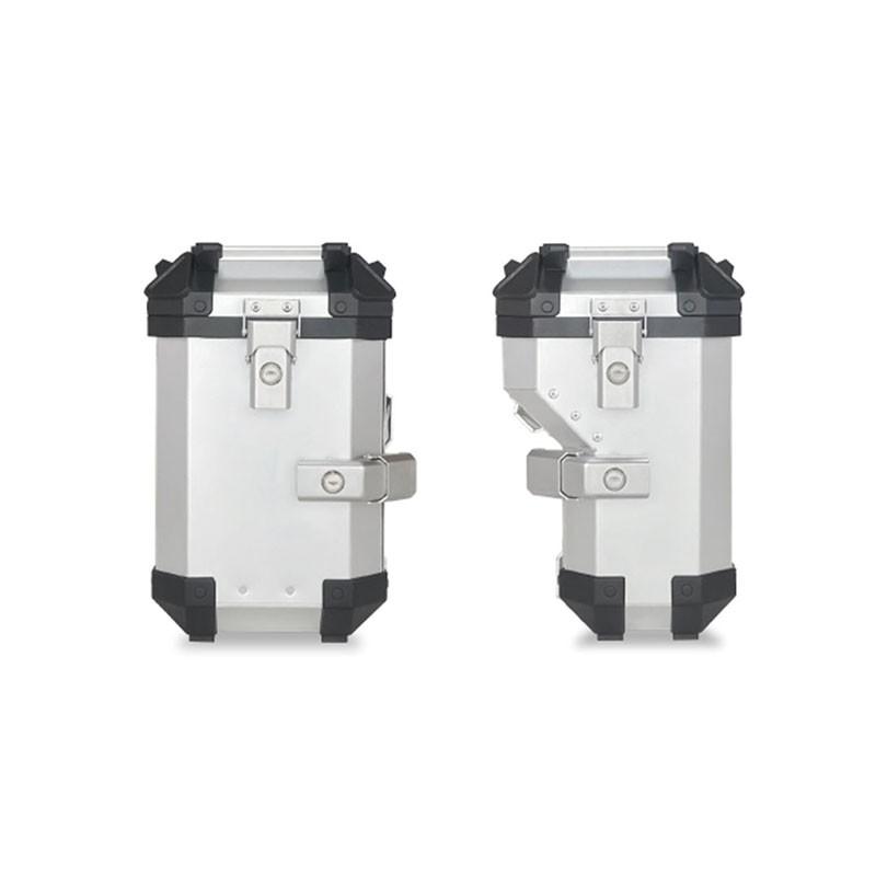 COOCASE X2-XP(36L+28L) 左右側箱 排氣管特殊凹入設計