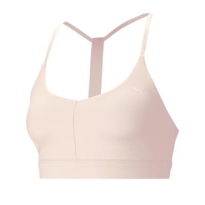 Puma 訓練系列美背低衝擊運動內衣 女 運動內衣-淡粉紅-52030727