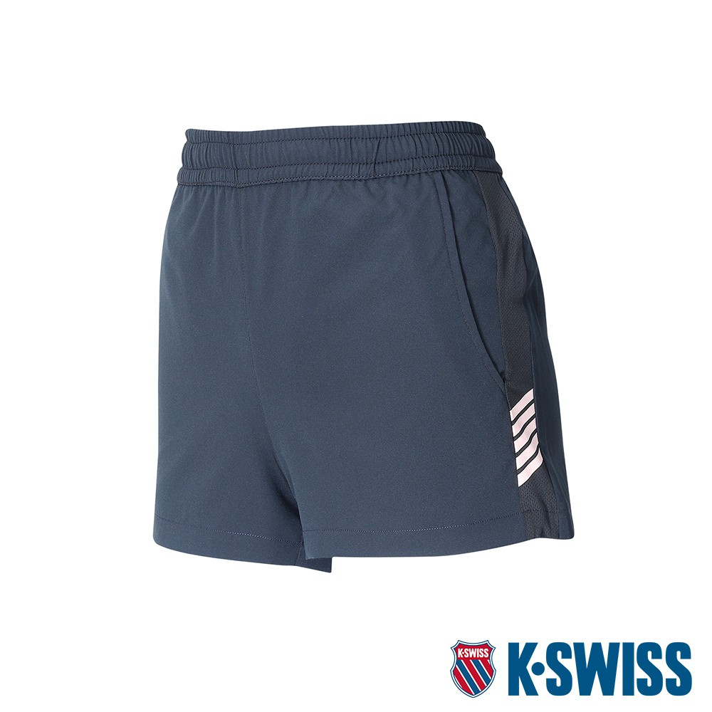 K-SWISS Slope KS Logo Shorts運動短褲-女-黑