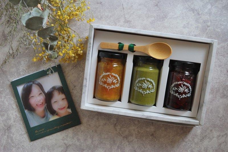 【客製化禮盒】 果醬禮盒含客製燙金顯影卡