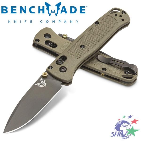 Benchmade Bugout 綠柄折刀 / CPM-S30V鋼 / 535GRY-1【詮國】