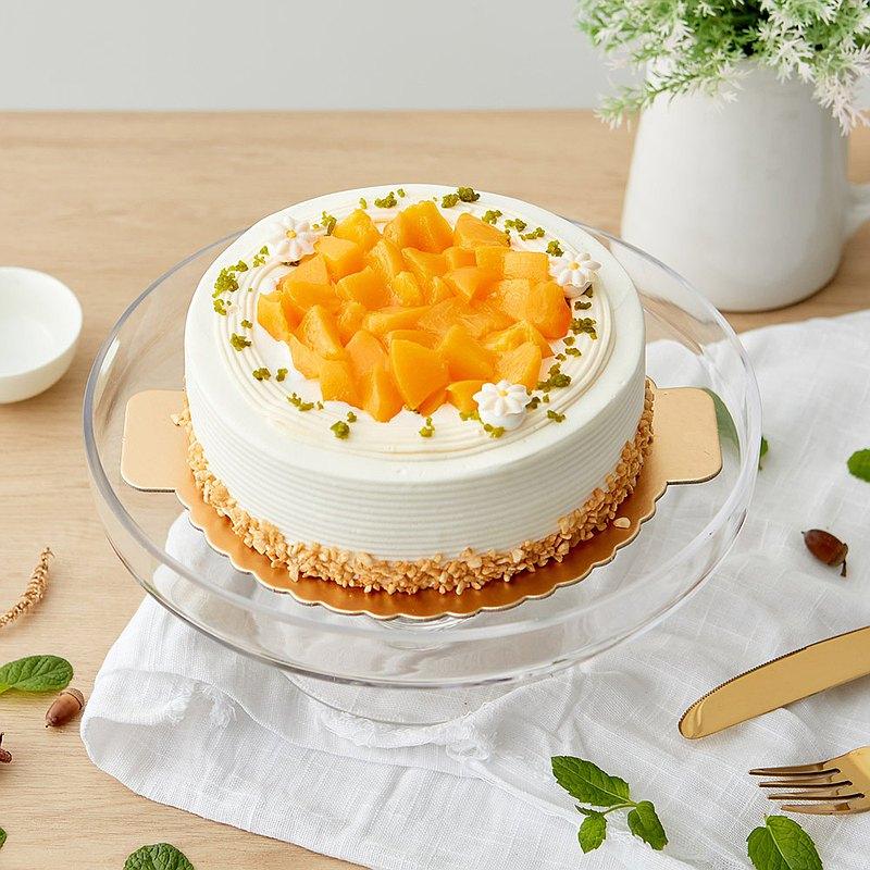【愛不囉嗦】一之軒 香芒戀桃蛋糕 ( 公益蛋糕 )