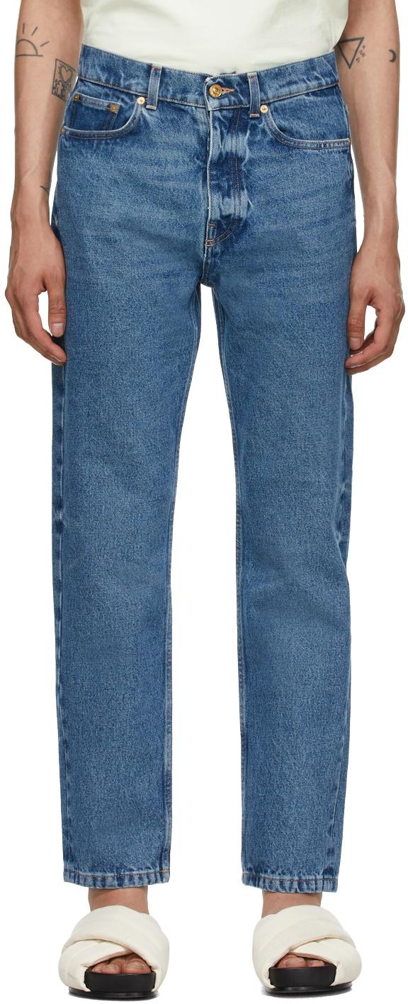 Tom Wood 蓝色 Sting 牛仔裤