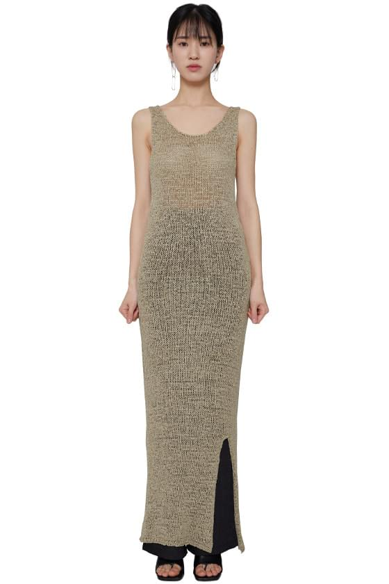 韓國空運 - Lisbon Knitwear Long Dress 長洋裝