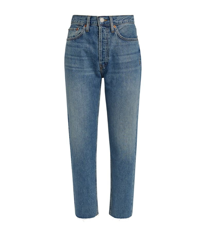 Re/Done '70S Stove Pipe High-Rise Jeans
