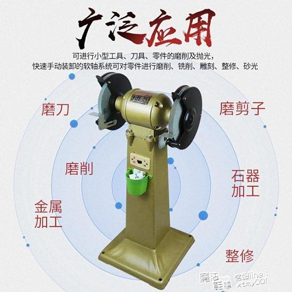 佩金重型台式砂輪機立式砂輪機工業級重型全銅線磨刀200/250 快速出貨