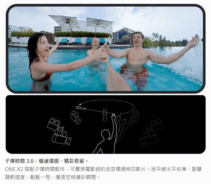 Insta360 全景錄影機 ONE X 2 相機 攝影機 全景 廣角 5.7K 10米防水 高畫質 公司貨
