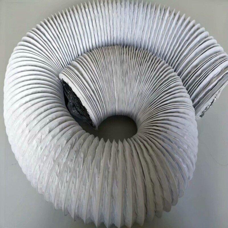 熱銷新品 【日本品質】臺灣熱銷 鋁箔軟管空調伸縮單管 排煙管通風排氣管 新風管鋼絲管 Φ150MM