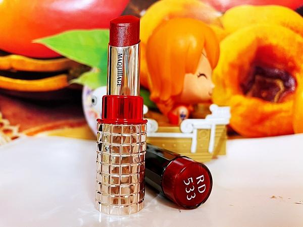 資生堂 心肌星魅蜜光圈唇膏 4g 色號:RD 533 百貨公司專櫃正貨全新裸盒裝
