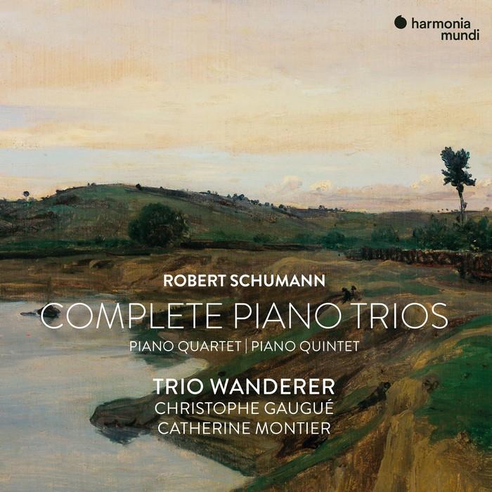 舒曼 鋼琴室內樂全集 流浪者三重奏 Schumann Complete Piano Trios HMM90234446