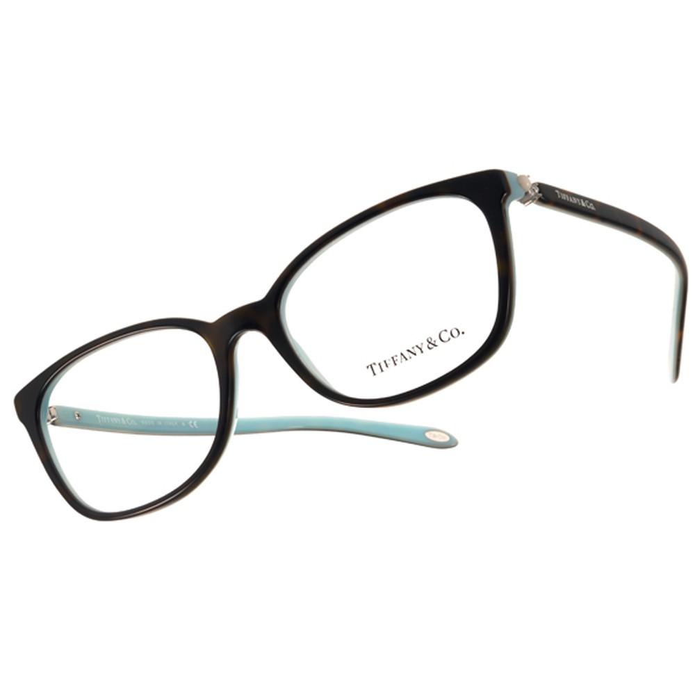 Tiffany&CO. 光學眼鏡 TF2109HB 8134 精品優雅珍珠款 眼鏡 -金橘眼鏡