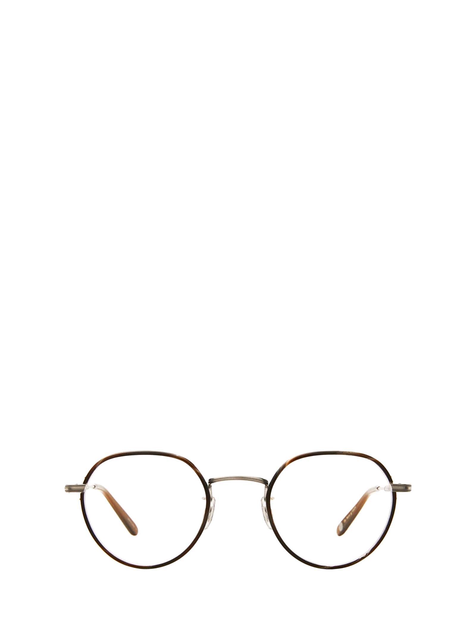 Garrett Leight Garrett Leight Robson W Dark Wave Rock-silver Glasses