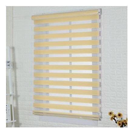 窗簾 卷簾免打孔廚房陽臺遮陽家用衛生間辦公室升降遮光卷拉式百葉窗簾