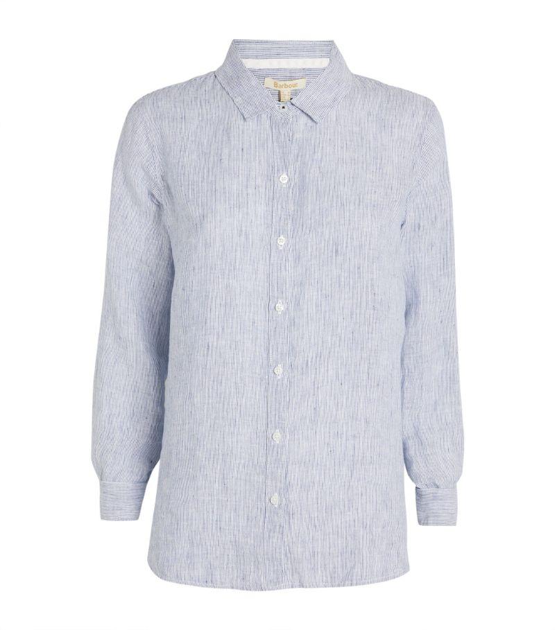 Barbour Linen Marine Shirt