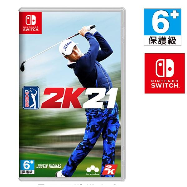 任天堂 NS SWITCH PGA TOUR 2K21 PGA 巡迴賽 2K21