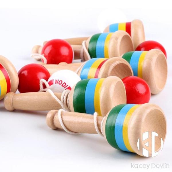 技巧杯劍球玩具傳統游戲運動拋接球幼兒園兒童戶外感統訓練器材【Kacey Devlin】