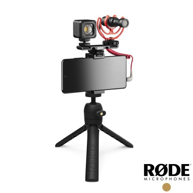 【RODE】Vlogger 麥克風套組 Universal 通用版本 直播套裝 適用 相機 手機 (公司貨)