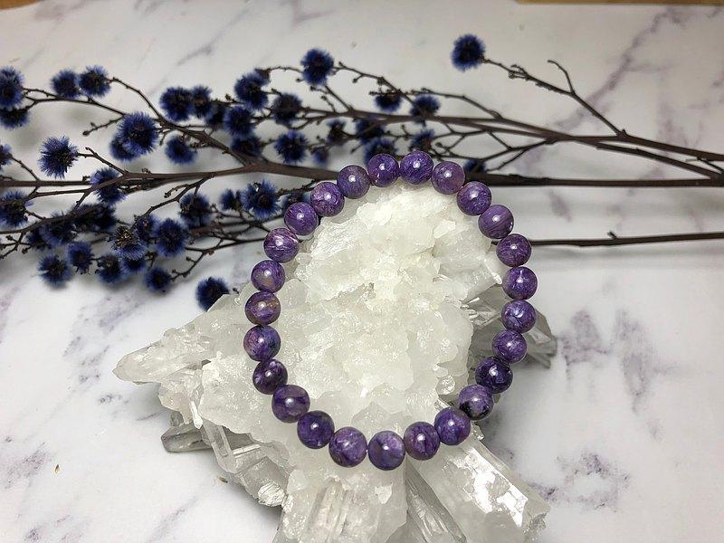 7mm天然紫龍晶手鍊