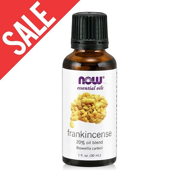 【NOW】乳香20%調和精油(30ml) Frankincense Oil Blend 效期2021/11/14