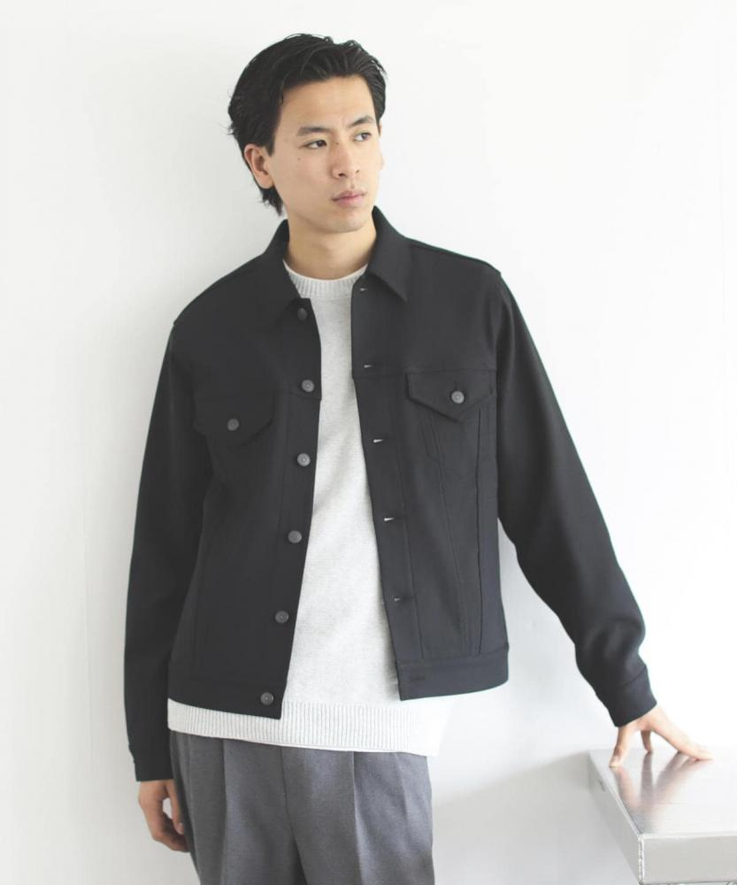 BEAMS / 男裝 PE 斜紋布 夾克