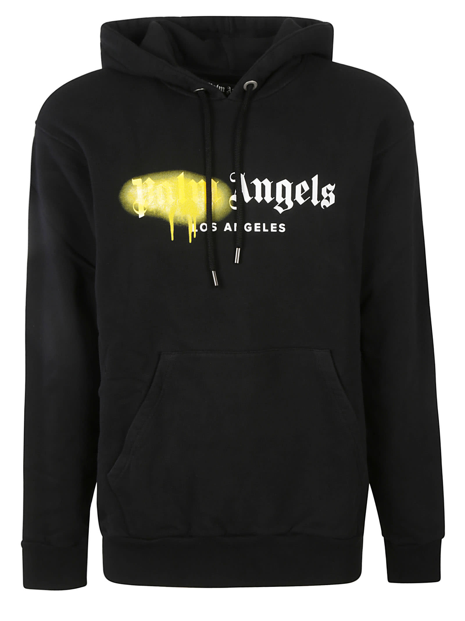 Palm Angels La Sprayed Logo Hoodie