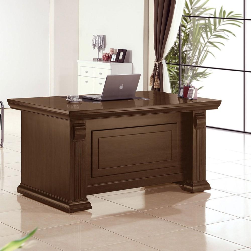 151cm辦公桌-a557-2工業風工作桌 書櫃型書桌 書桌加書櫃 金滿屋