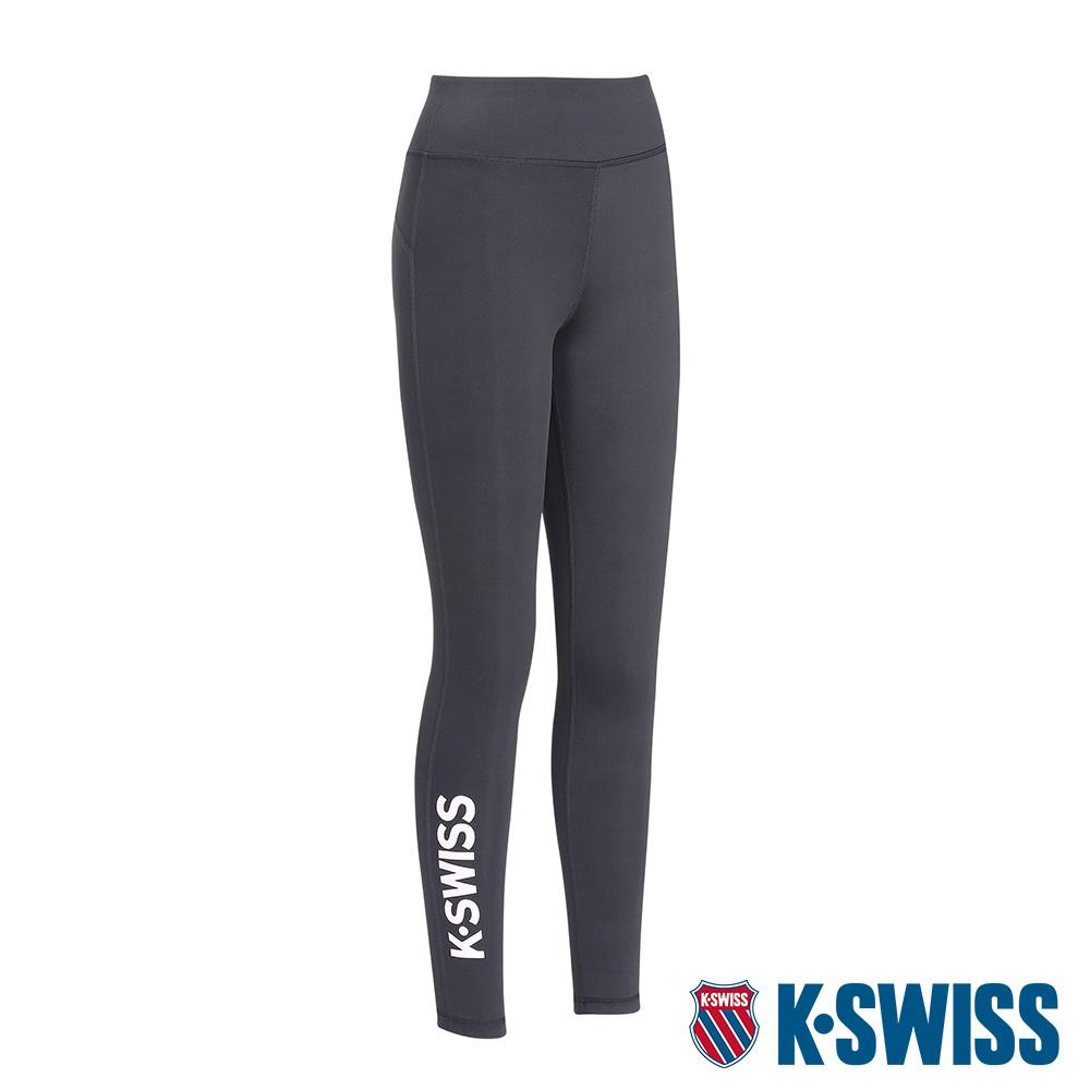 K-SWISS KS Legging運動緊身褲-女-黑