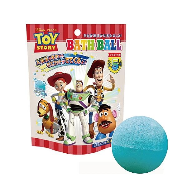 日本 NOL 玩具總動員入浴球Ⅱ|沐浴球|泡澡球