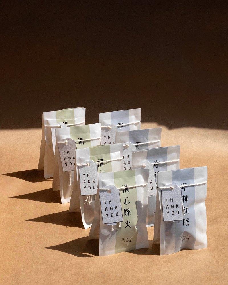 【客製化花茶】婚禮小物 / 企業禮物 / 活動贈禮 (10份起)