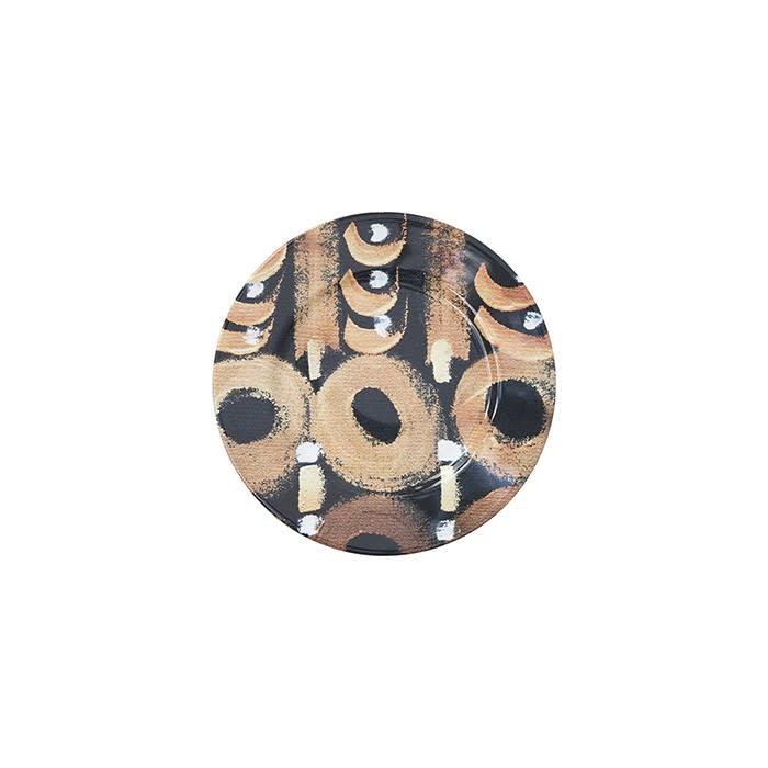 Plates Round Ceramic Colores 19 Cm